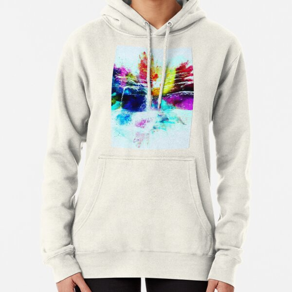 Liffey falls in colour Pullover Hoodie