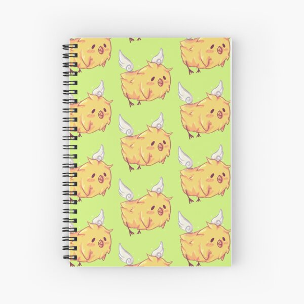 Winged Nugget Spiral Notebook