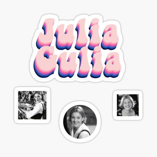 julia gulia Sticker