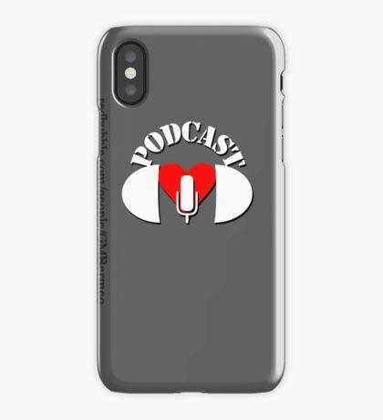 Podcasting Love iPhone Case/Skin