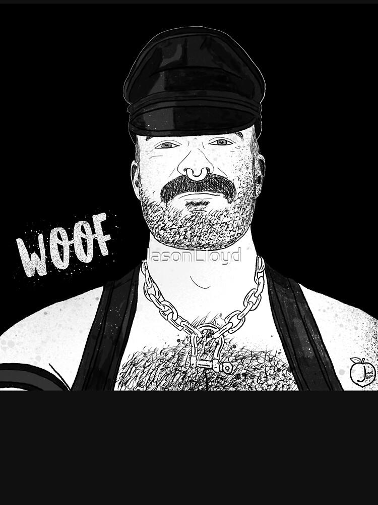 Woof (Ink) by JasonLloyd