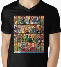 GI Joe in den 80ern! T-Shirt mit V-Ausschnitt