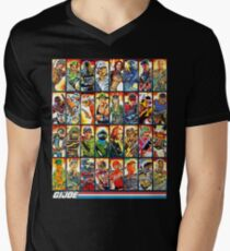 6a4a58b2 G.I. Joe in the 80s! V-Neck T-Shirt
