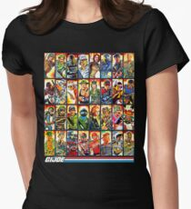 G.I. Joe in the 80s! Womens Fitted T-Shirt