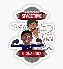 Inspector Spacetime Sticker
