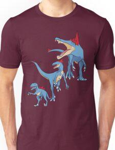Pokesaurs - Totodilian Evolution Unisex T-Shirt