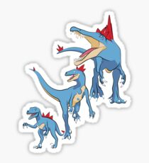 Pokesaurs - Totodilian Evolution Sticker