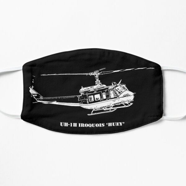 UH-1H Huey Helicopter Flat Mask