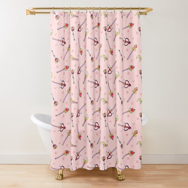Sailor Moon Wands Shower Curtain