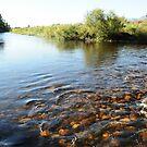 A river runs through it... by Karen01