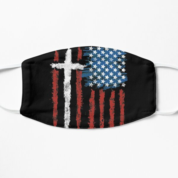 Patriotic Believer Flat Mask