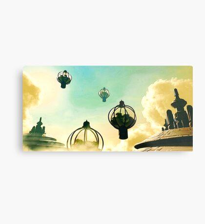 The Flight Across the Three Universes #8 - The Floating Gardens of Balresha 9 // Remembrances Metal Print