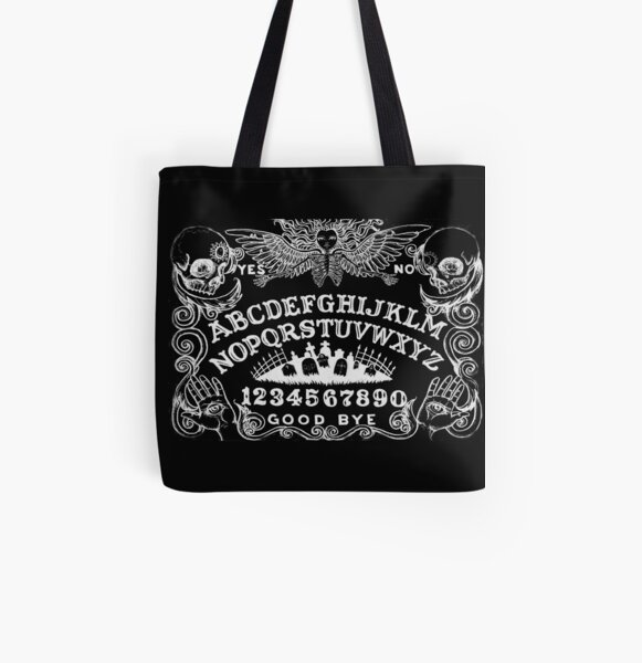 black witch board All Over Print Tote Bag