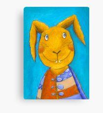 Mr. Rabbit  Canvas Print