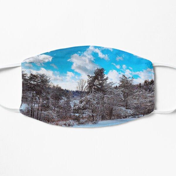 Snowy Sun Day  Mask