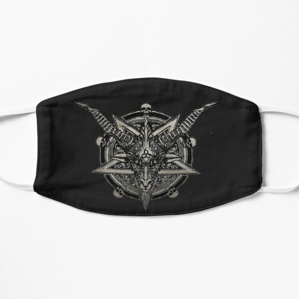 666 Baphomet Flat Mask