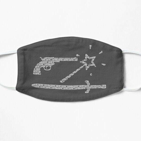Pistole, Zauberstab und Schwert - RPG Maske