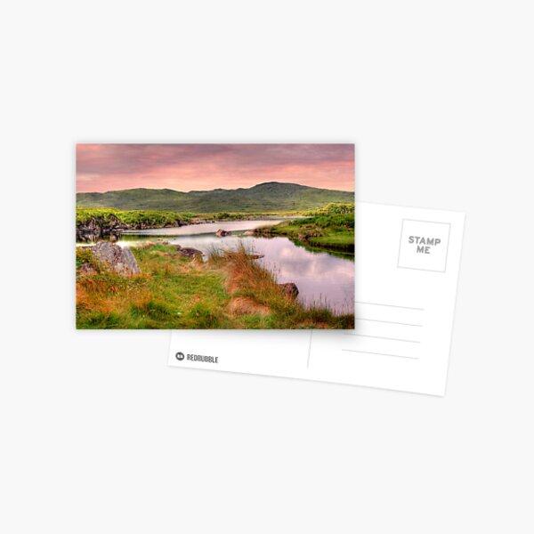 Green Hills of Ireland - The Connemara, Co. Galway, Ireland Postcard