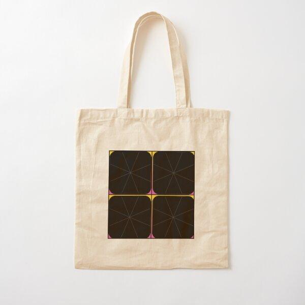 Spiral multicolor Cotton Tote Bag