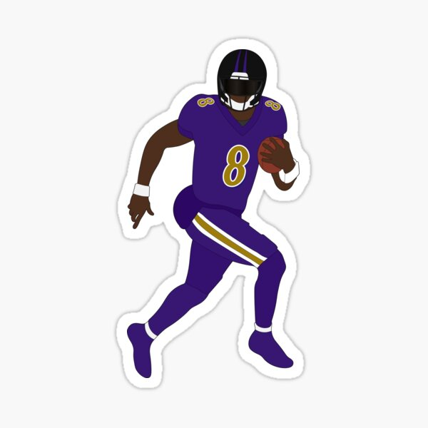 Lamar J Raven Sticker