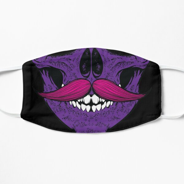 I mustache you a question - Purple and Pink Mask