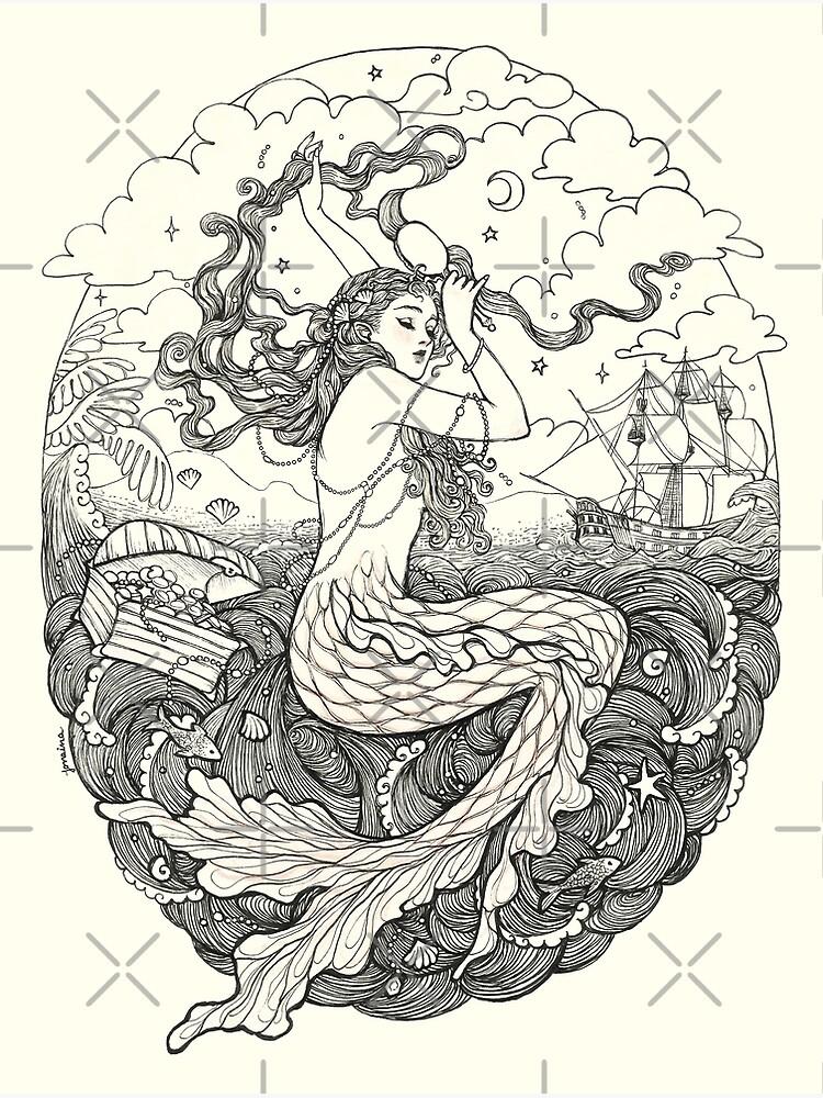 Mermaid by JanainaArt