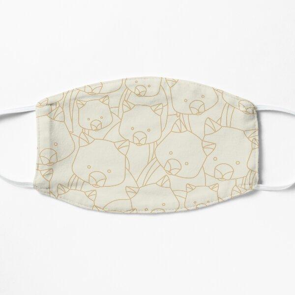 Minimalist Wombat Flat Mask