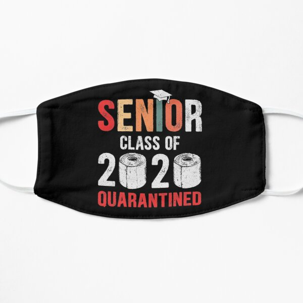 Senior Class of 2020 Quarantine Graduation Toilet Paper Mask