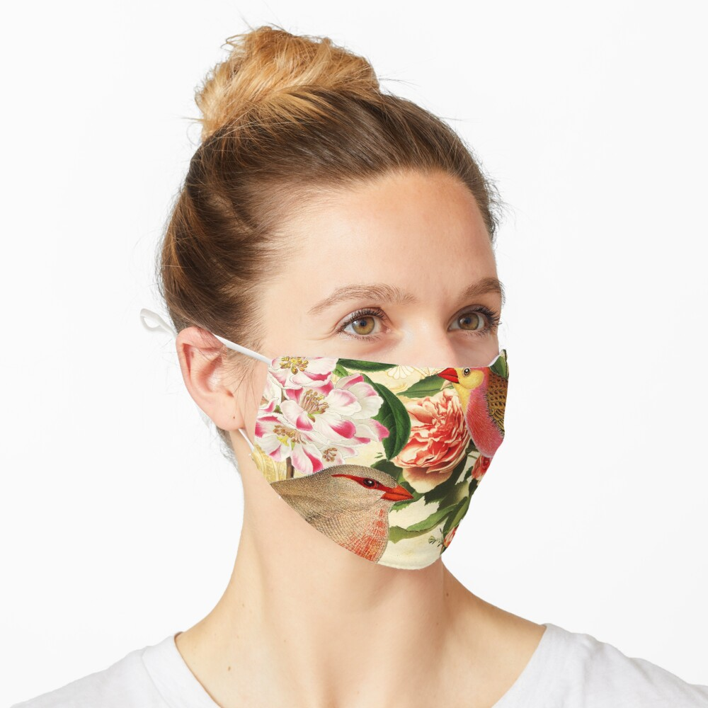 Birds and Roses Mask