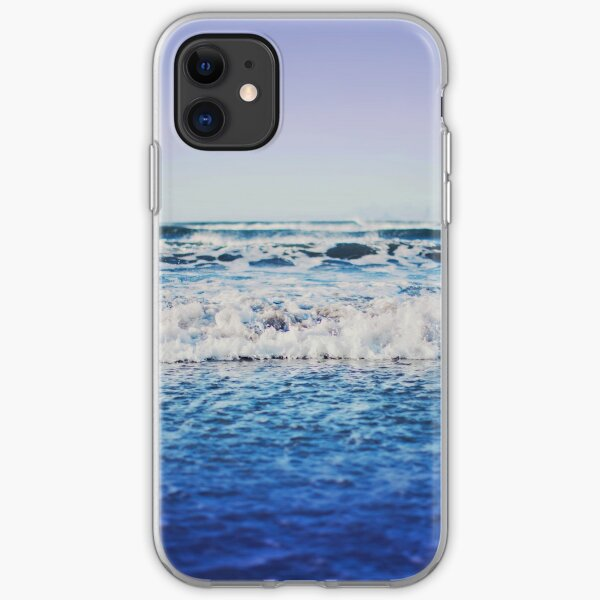 Indigo Waves iPhone Soft Case