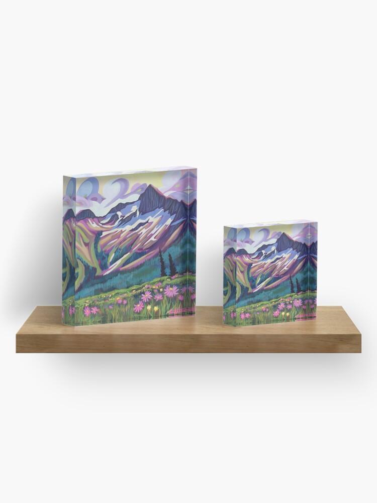 Alternate view of Summer Dreams Acrylic Block