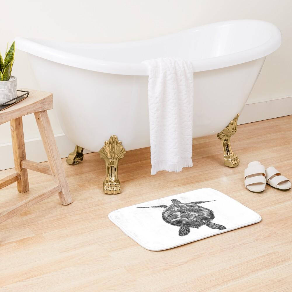 Jacki the Turtle Bath Mat