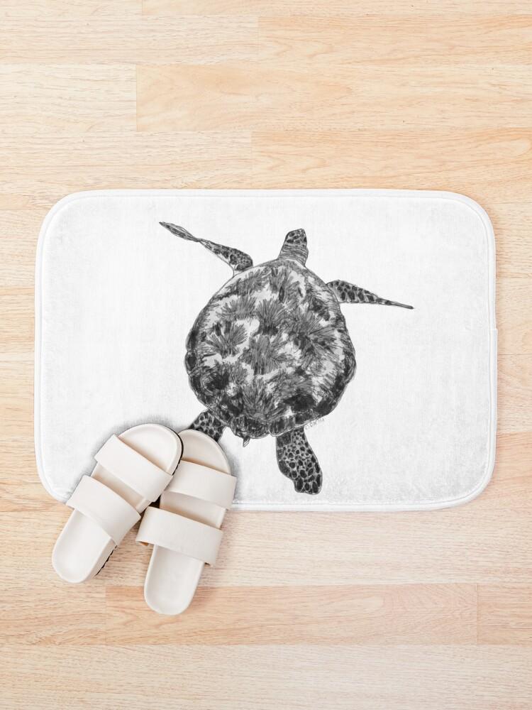Alternate view of Jacki the Turtle Bath Mat