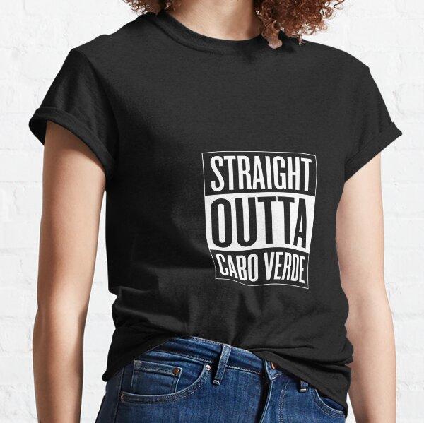 Tout droit sortie Cabo Verde T-shirt classique