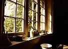Tack Room Windowsill by Nigel Bangert