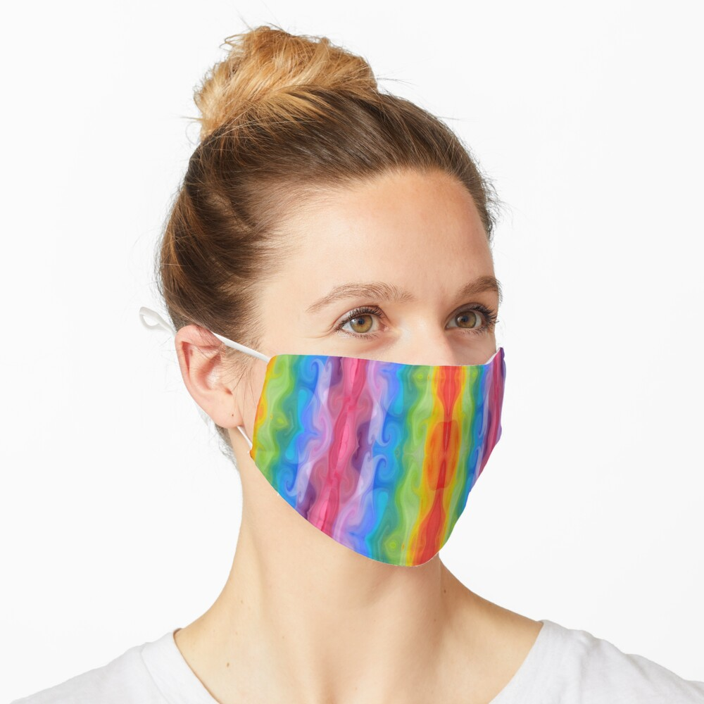 Colors of the Rainbow Mask
