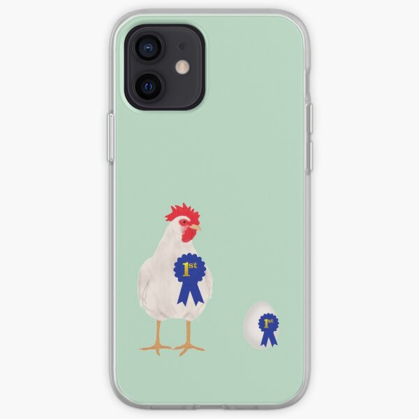 Chicken or the Egg iPhone Soft Case