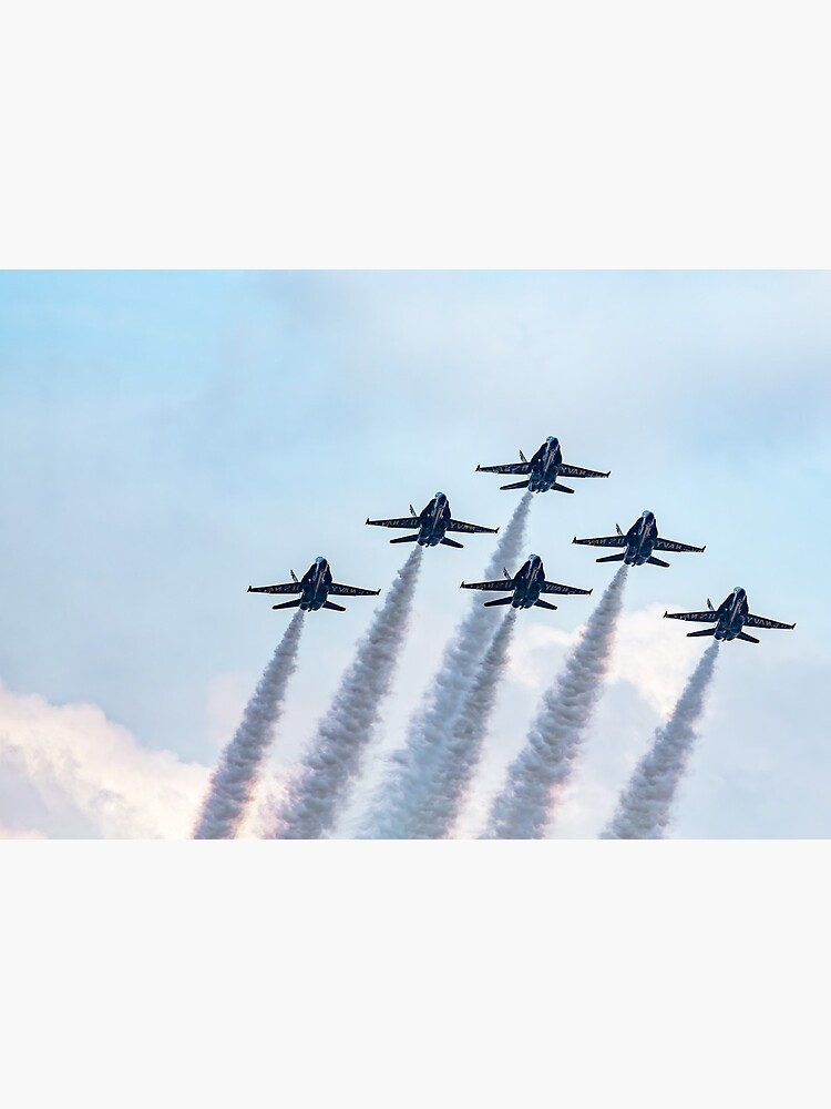 Blue Angels in Formation by KayBrewer