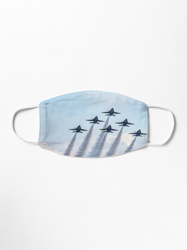 Alternate view of Blue Angels in Formation Mask