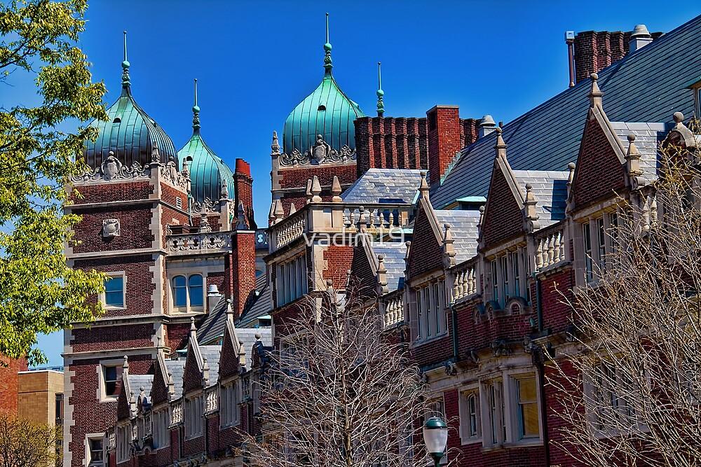 USA. Philadelphia. University of Pennsylvania. by vadim19
