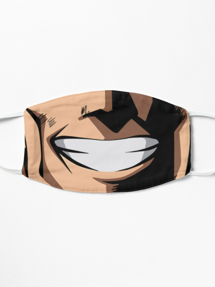 Alternate view of All Might Mask Mask