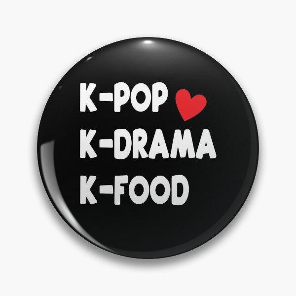 Kpop Kdrama Kfood Pin