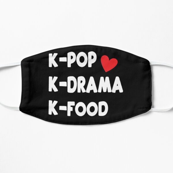 Kpop Kdrama Kfood Mask