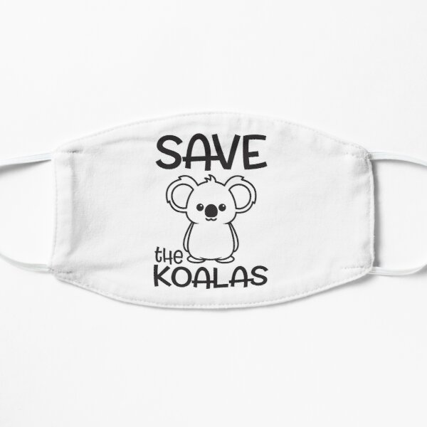 Salvar el rescate de animales de Koalas Australia Mascarilla