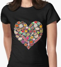 I Love Mexican Candy - Aquamarine Women's Fitted T-Shirt