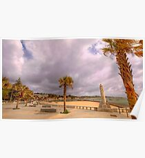 paço d'arcos beach Poster