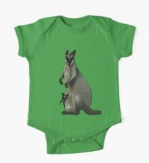 Swamp wallaby One Piece - Short Sleeve