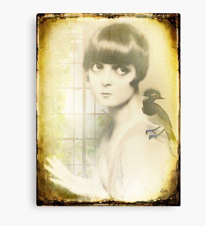 A Little Bird Told Me Canvas Print