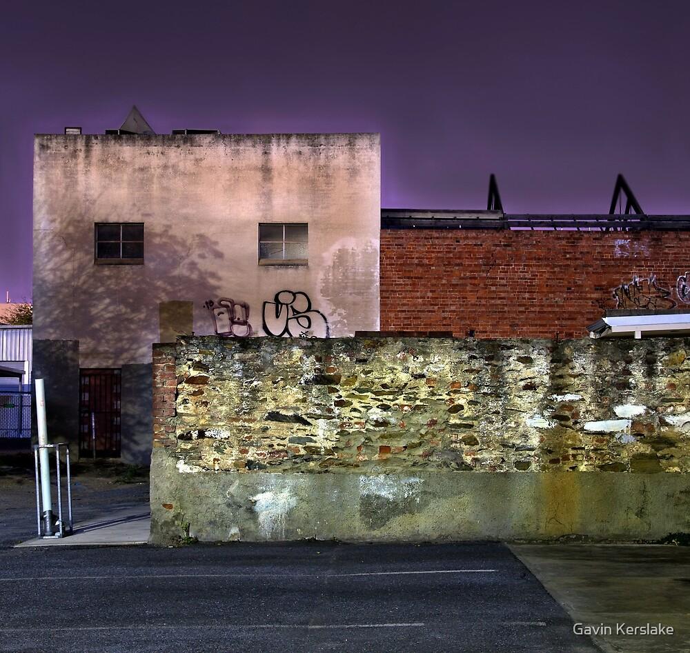 Tapley Street Wall - Adelaide by Gavin Kerslake