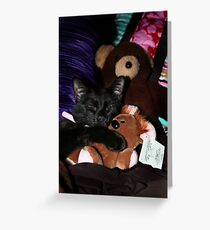 Pooky and Me Greeting Card